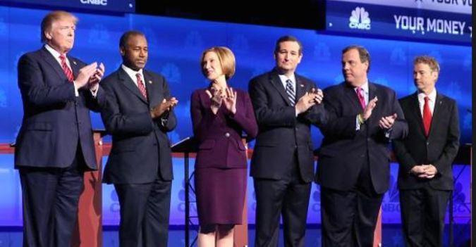 GOP Debate on CNBC