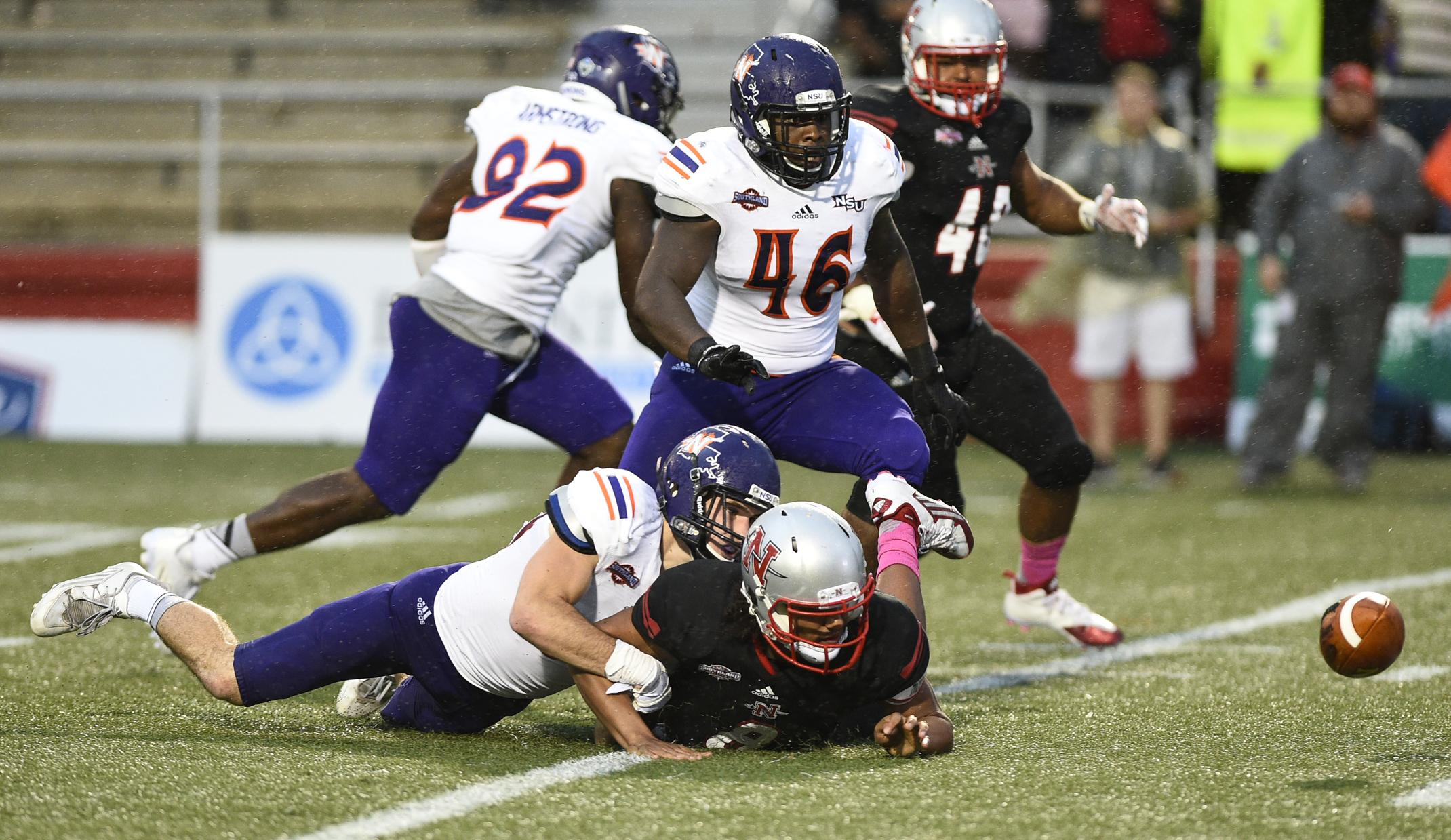 Northwestern 7 Yard Punt Chase Collins