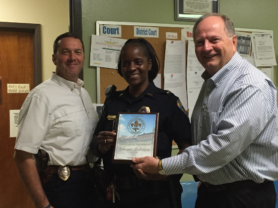 Employee of the Month - August 2016 Susan Johnson