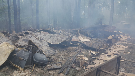 NFP-9 Camp fire 2