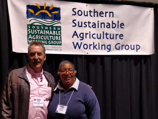 Dr Motsenbocker and Donna Isaacs at 2017 SSAWG Conference