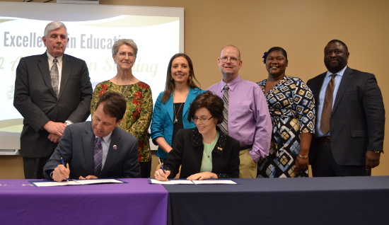 NSU, SLCC signing