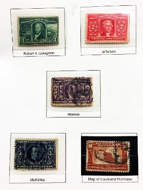 1904 Louisiana Purchase Set