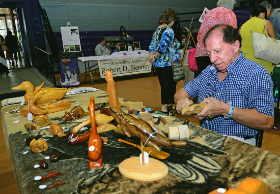 Folk Festival crafts 2017