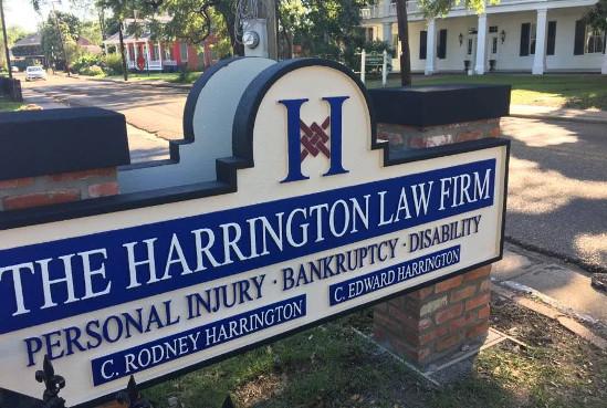 ADV-Harrington Law Firm Sign 2017