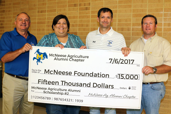 Foundation.Ag Alumni donation.7.14.2017