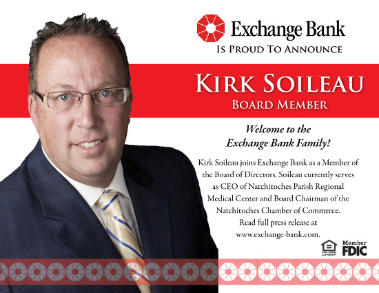 Kirk Soileau Announcement Facebook