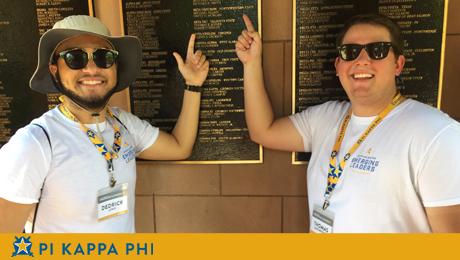 NSU Pi Kappa Fi Students